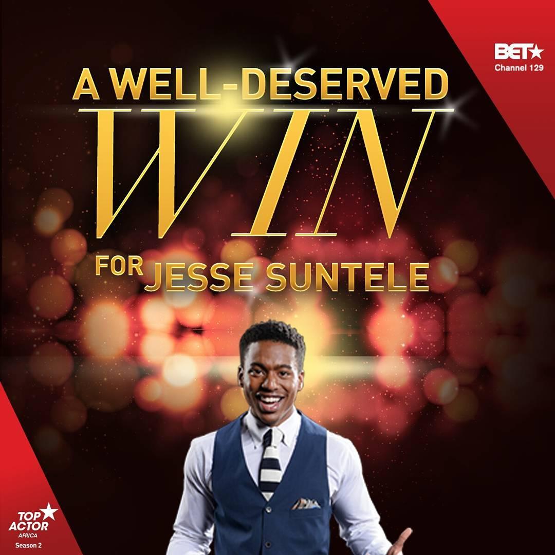 Jesse Suntele | TOP ACTOR AFRICA | SEASON 2