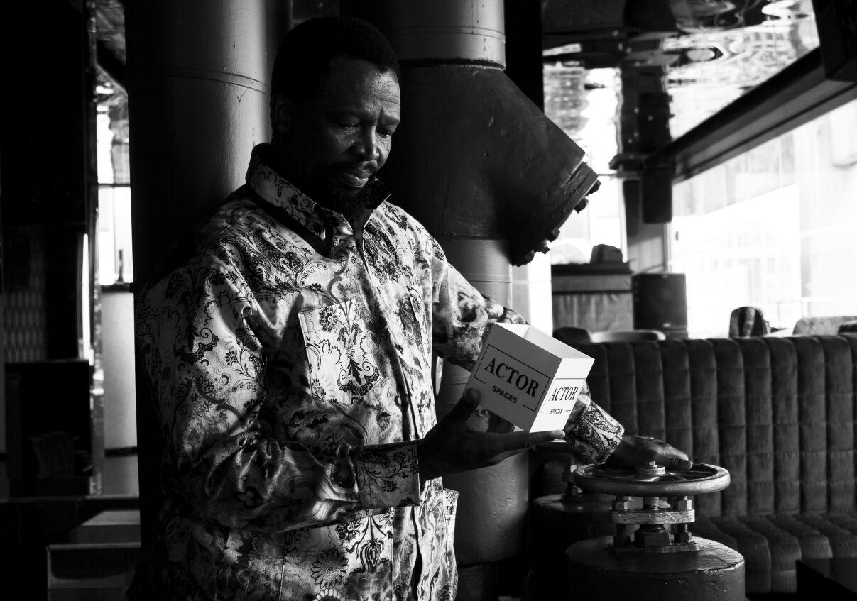 Actor Spaces | Portraits Sello Ka Maake Mcube